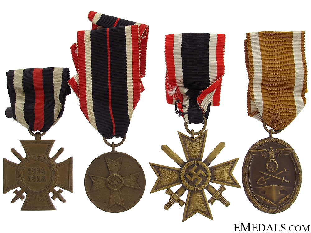 eMedals-Four German Medals & Awards