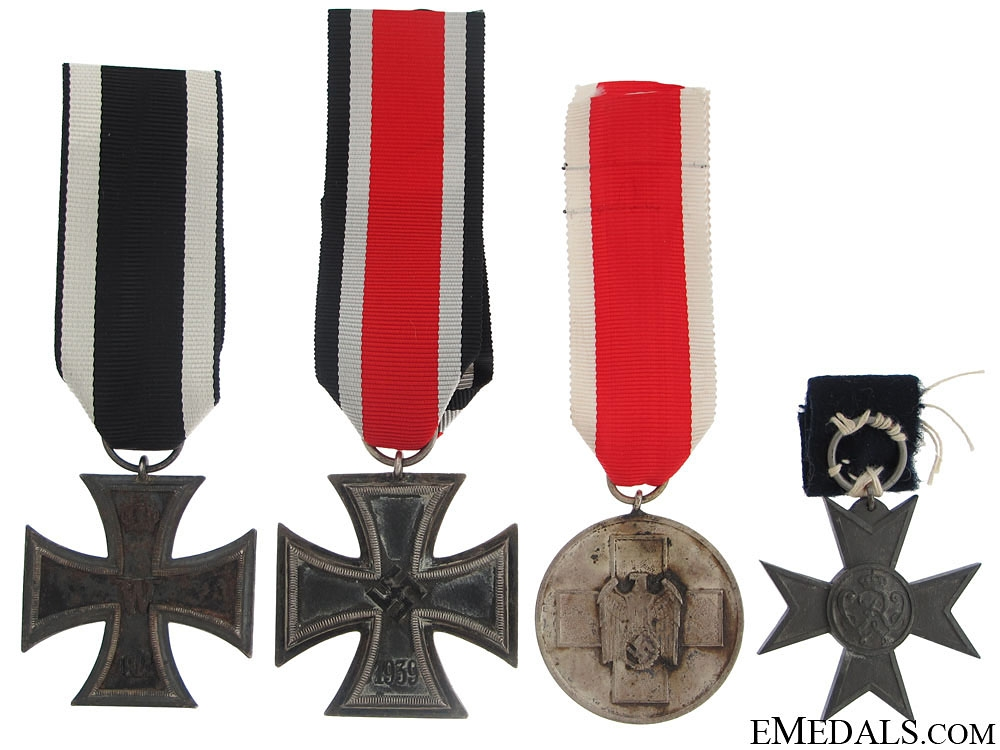 eMedals-Four German WWII Awards