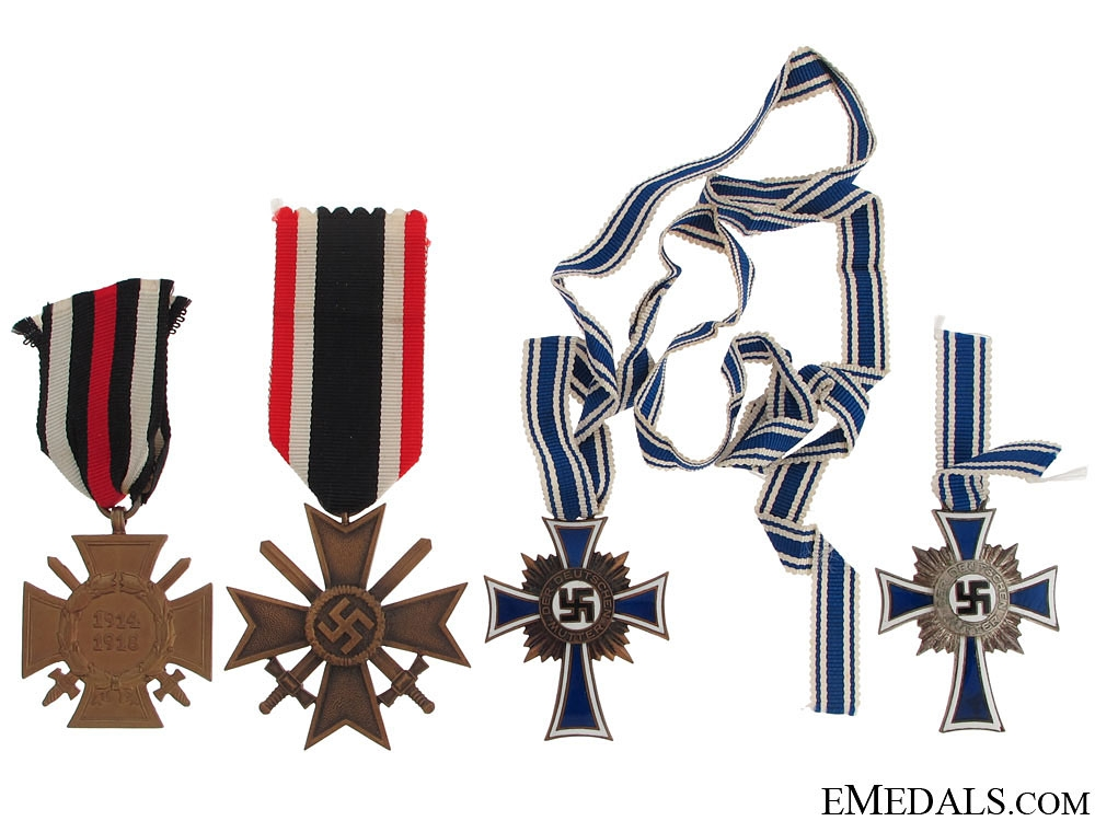 eMedals-Four German WWII Medals