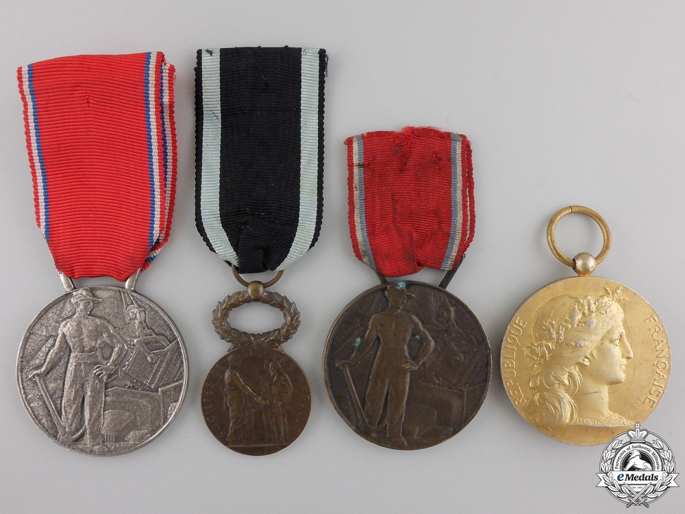 eMedals-Four Named French Medals and Awards