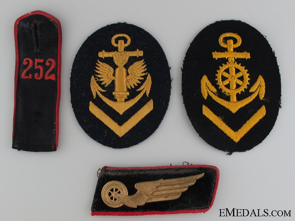 eMedals-Four Pieces of German Insignia