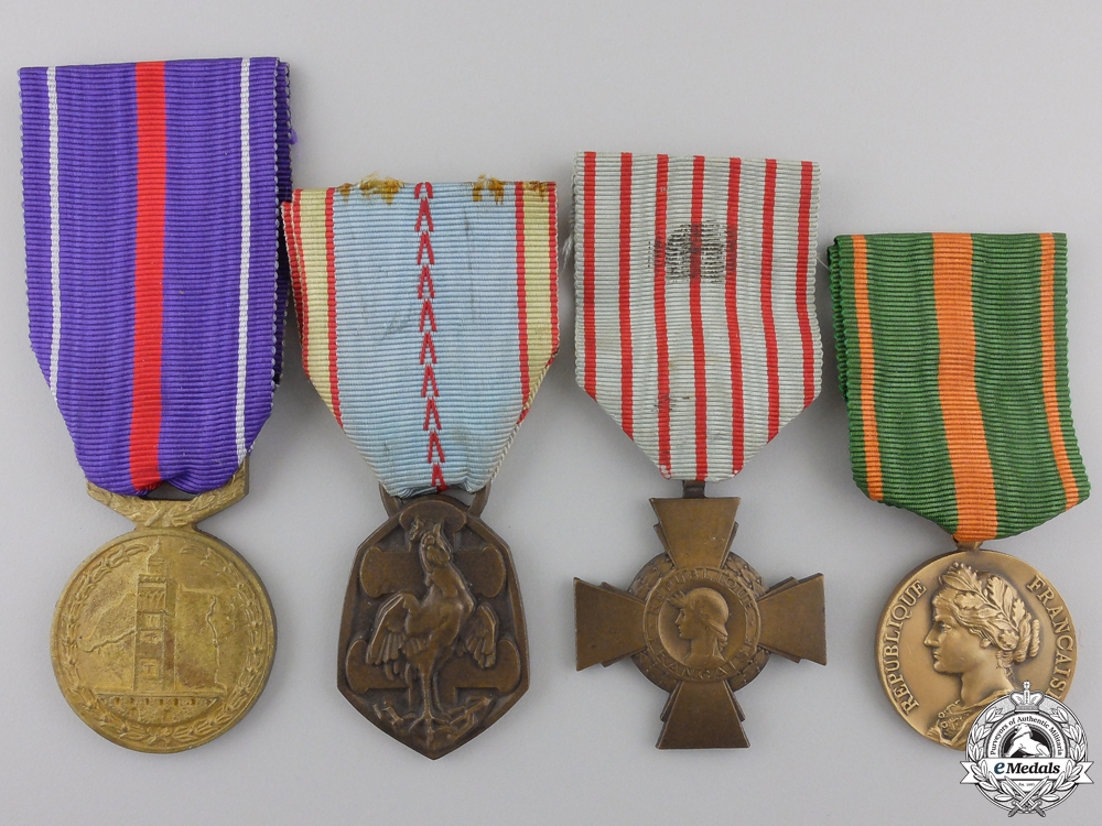 eMedals-Four Second War French Medals and Awards