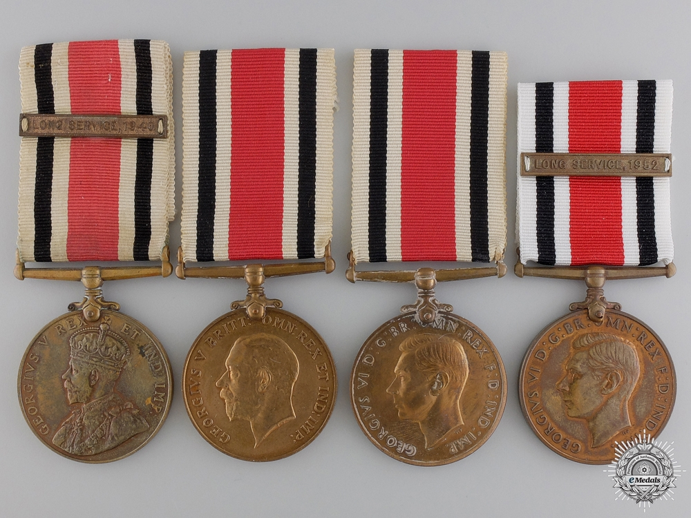 eMedals-Four Special Constabulary Long Service Medals