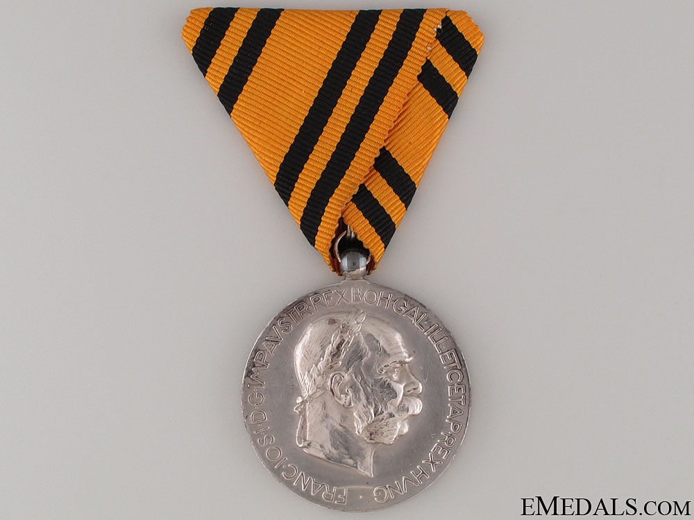 eMedals-Franz Joseph Jubilee Medal 1908 for Foreigners