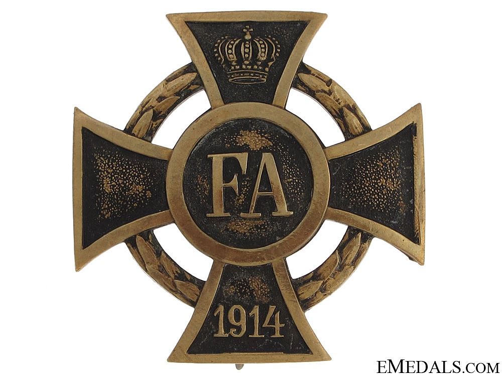 eMedals-Frederic August Cross 1914