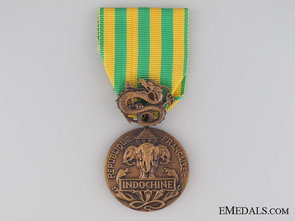 eMedals-French Commemorative Medal for the Indochina Campaign, 1945-1954