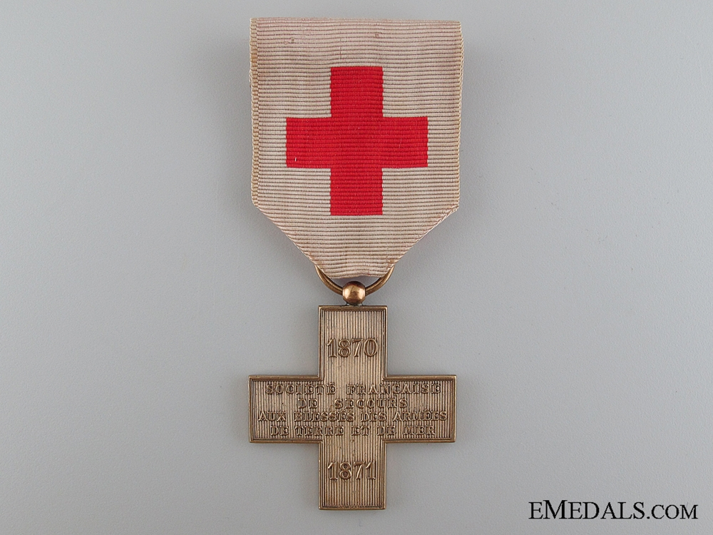 eMedals-French Cross of the French Society for the Aid of Wounded Military
