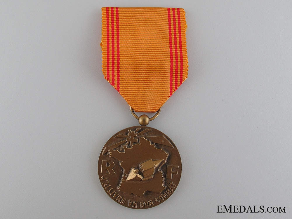 eMedals-French Medal of the Resister, 1939-1945