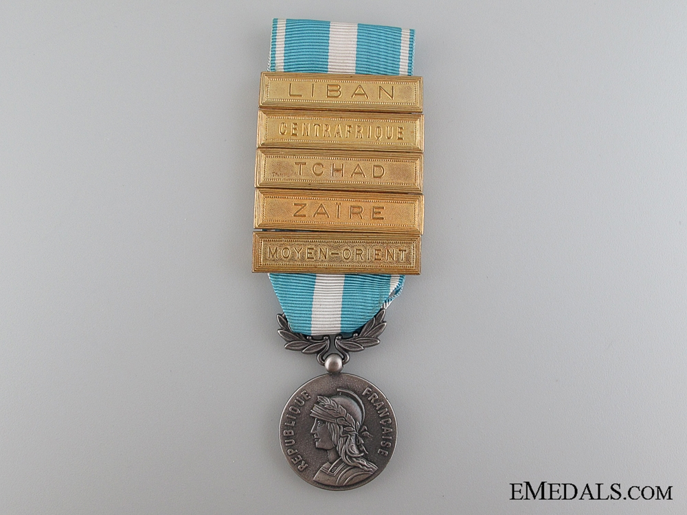 eMedals-French Overseas Medal, Post-1962