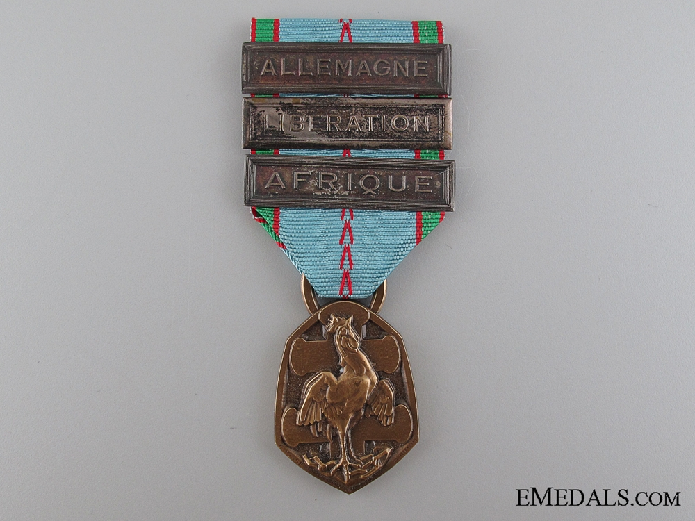 eMedals-French War Commemorative Medal, 1939-1945