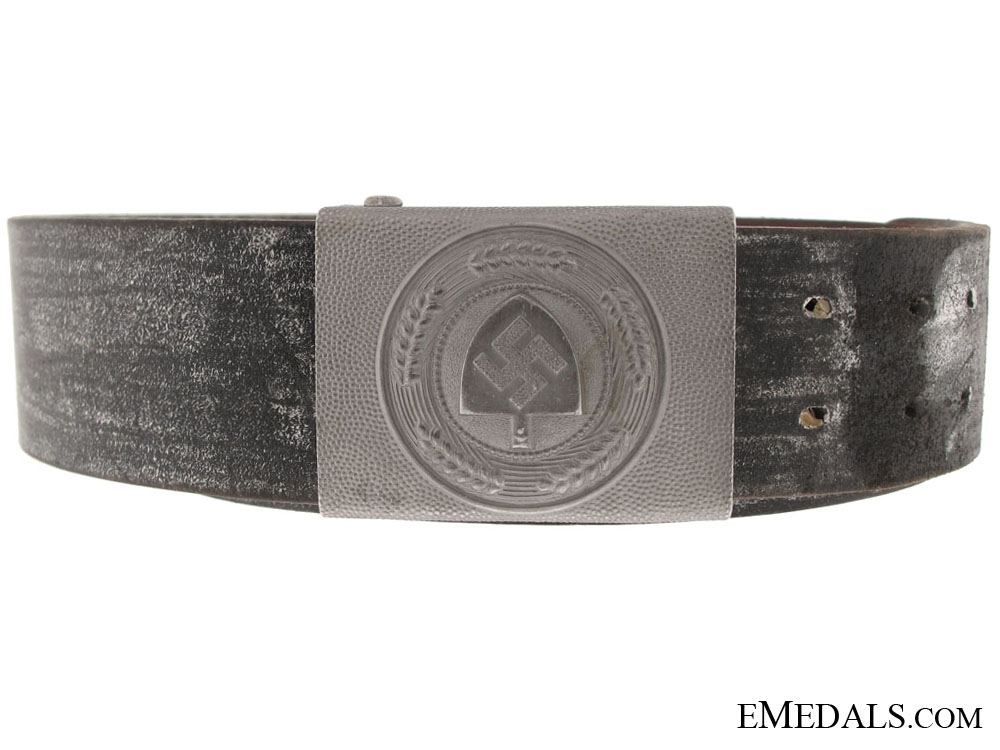 eMedals-German Belt and RAD Labour Service Buckle