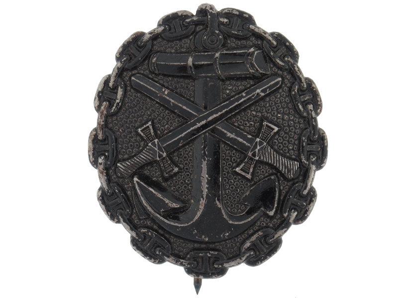 eMedals-Naval Wound Badge