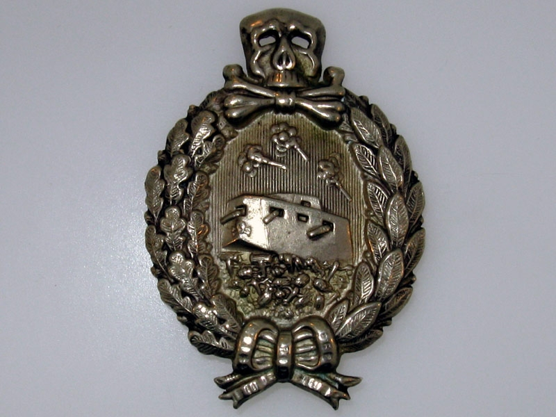 eMedals-Tank Badge WWI