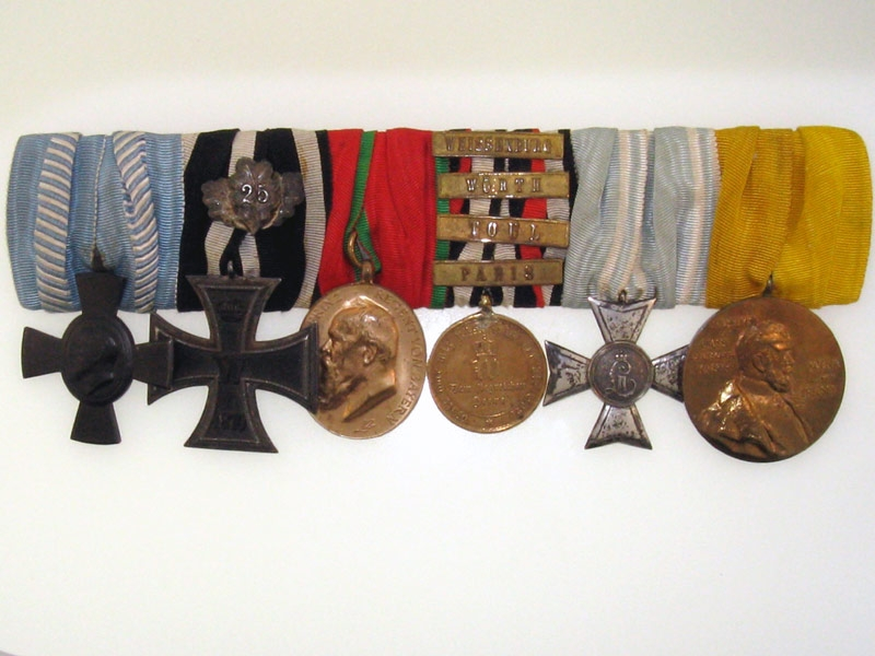 eMedals-1870 Iron Cross - 6 Medal Group