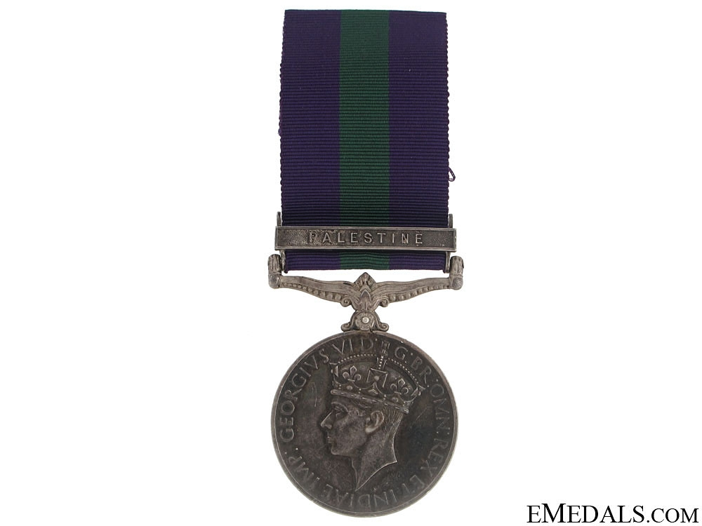 eMedals-General Service Medal 1918-1962 - 11th Hussars