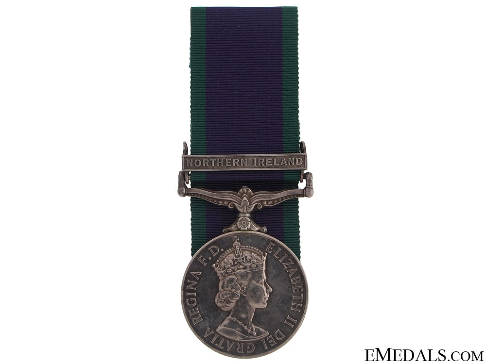 eMedals-General Service Medal - Northern Ireland
