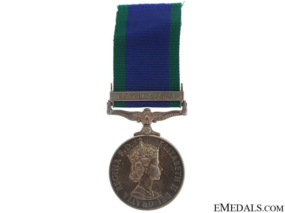 eMedals-General Service Medal 1962 - South Arabia