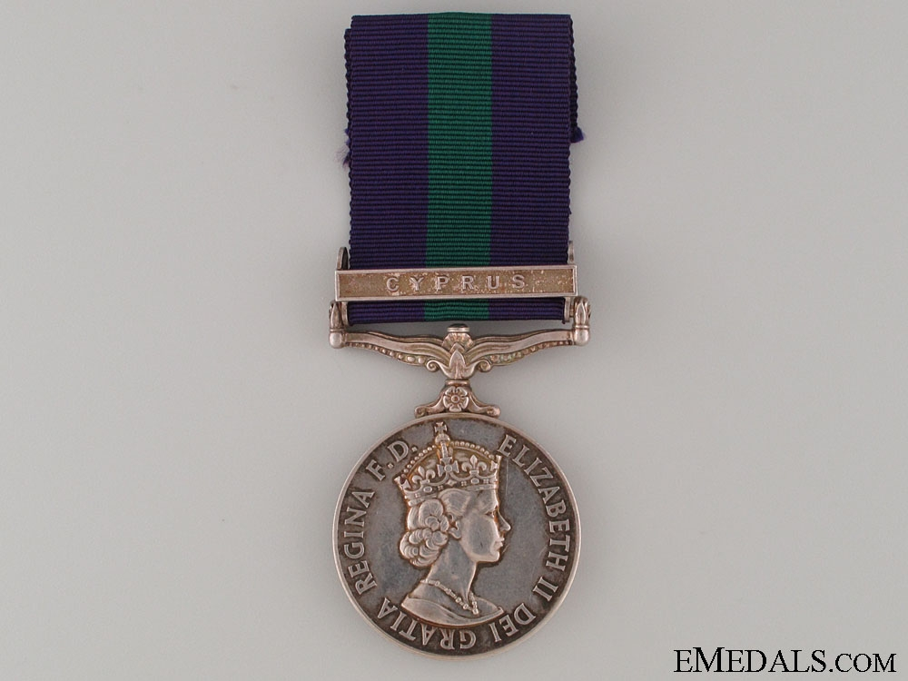 eMedals-General Service Medal - Lancashire Fusiliers