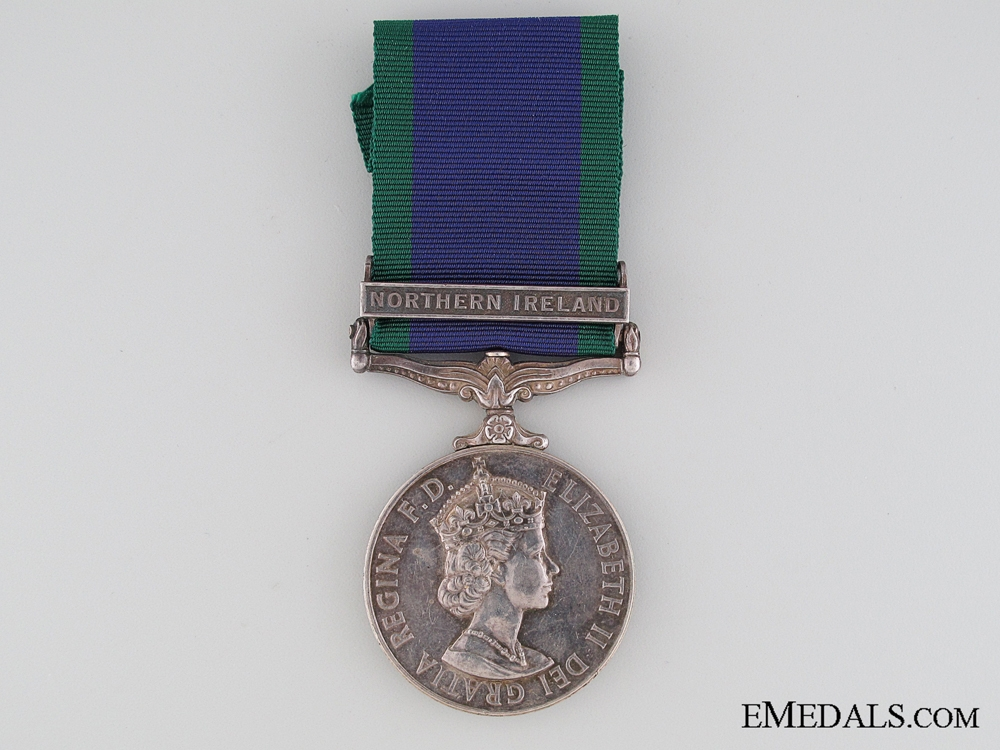 eMedals-General Service Medal 1962 to Marine S.A. Hutton