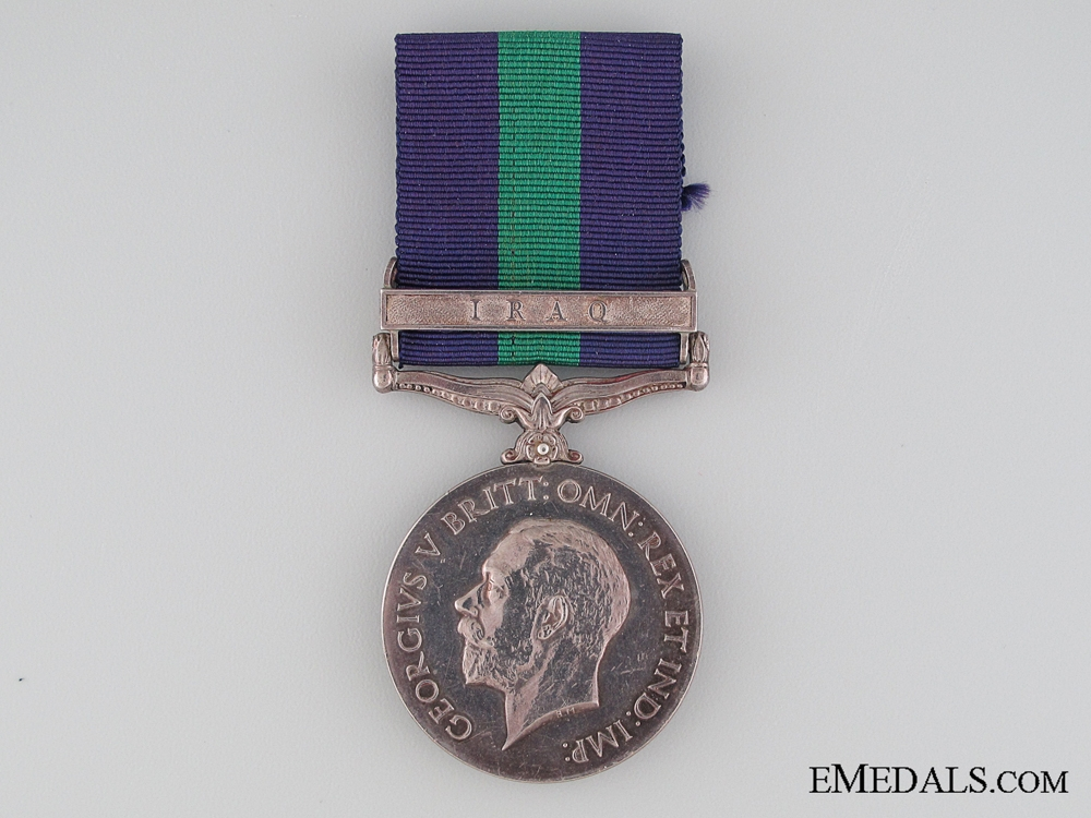 eMedals-General Service Medal 1918-1962, Private W.W.G. Easthope, Duke of Cornwall's Light Infantry