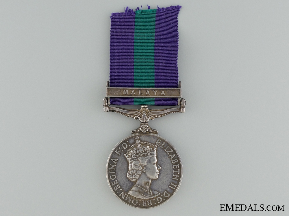 eMedals-General Service Medal 1918-1962 to the 6th Gurkha Rifles