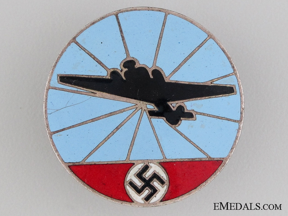 eMedals-German Aircraft Reporting Service Badge