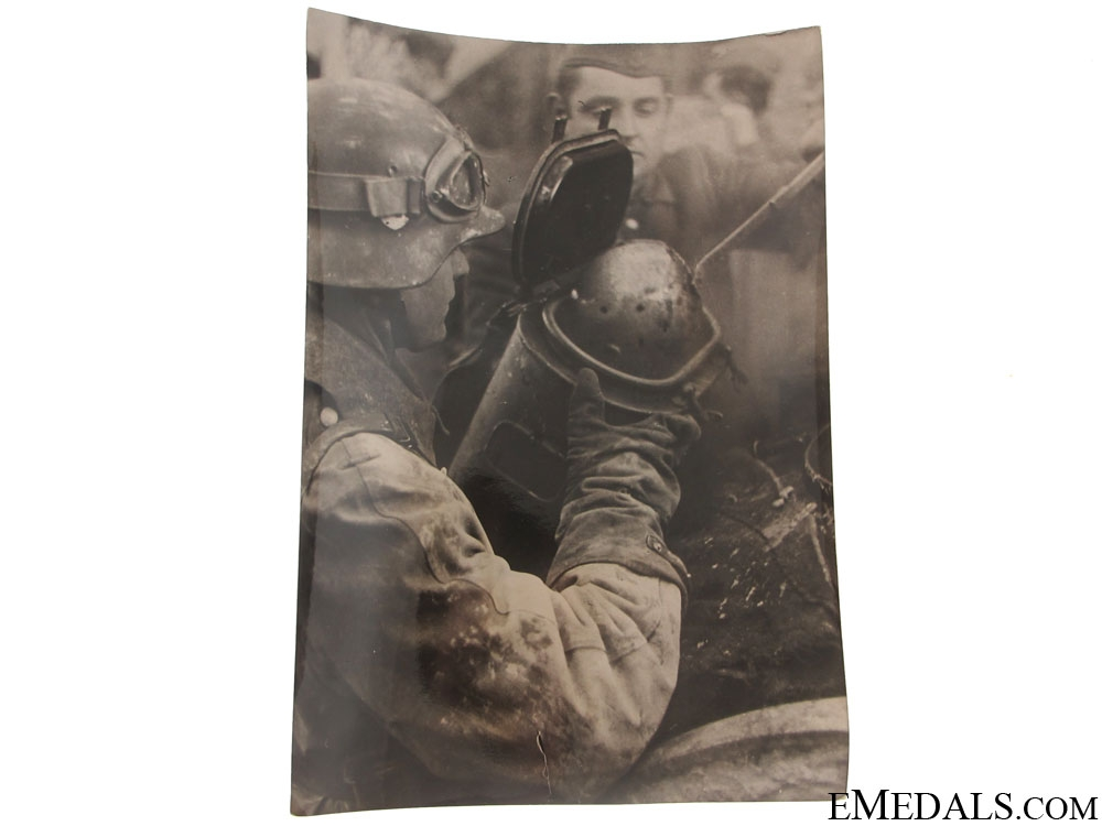 eMedals-German Army Combating Partisans Photograph