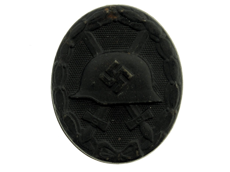 eMedals-Wound Badge-Black Grade