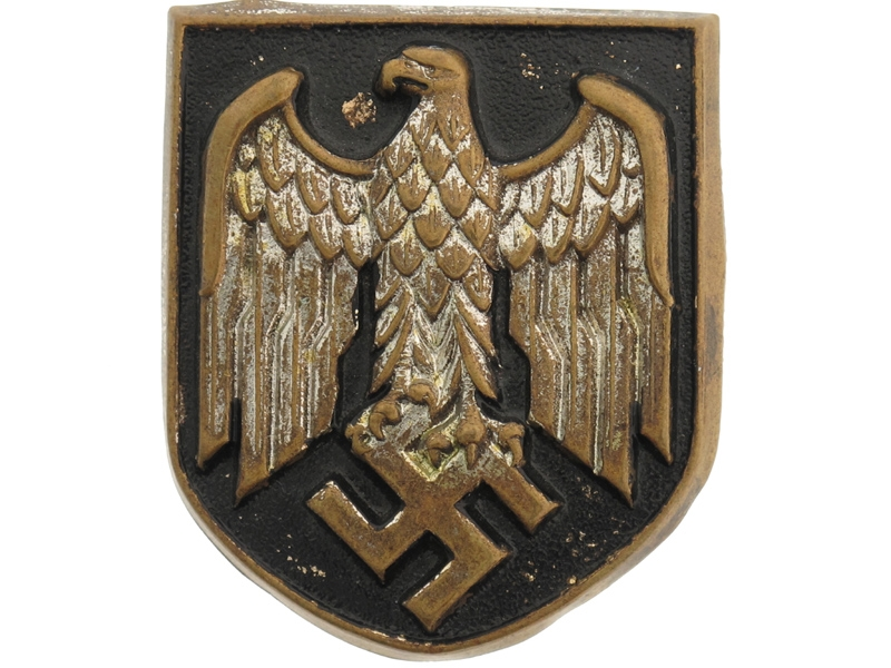 eMedals-Army Shield for Pith Helmet