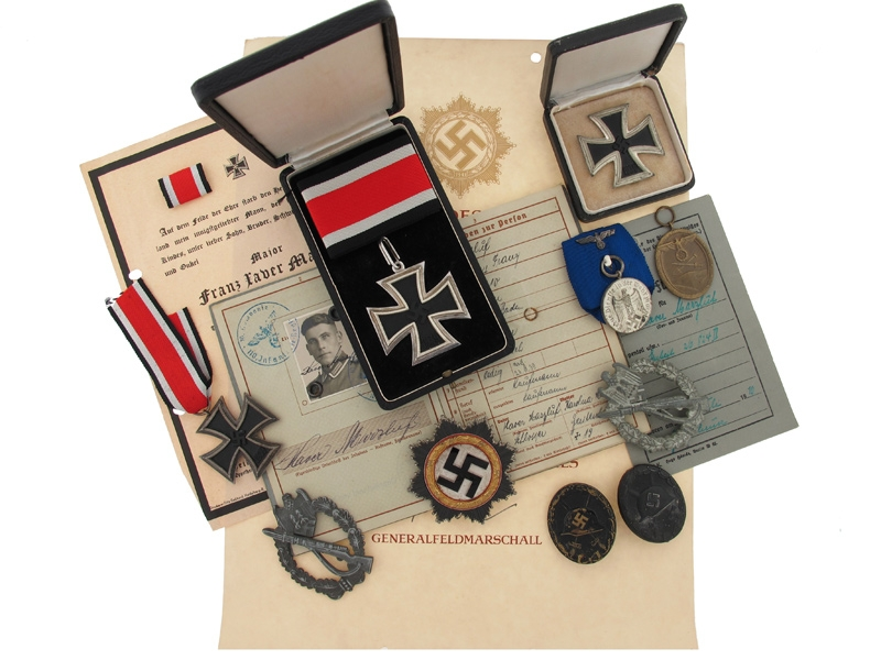 eMedals-Superb Knight Cross Group, Awarded