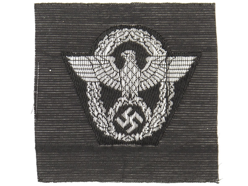 eMedals-SS Police Field Cap Insignia for Other Ranks