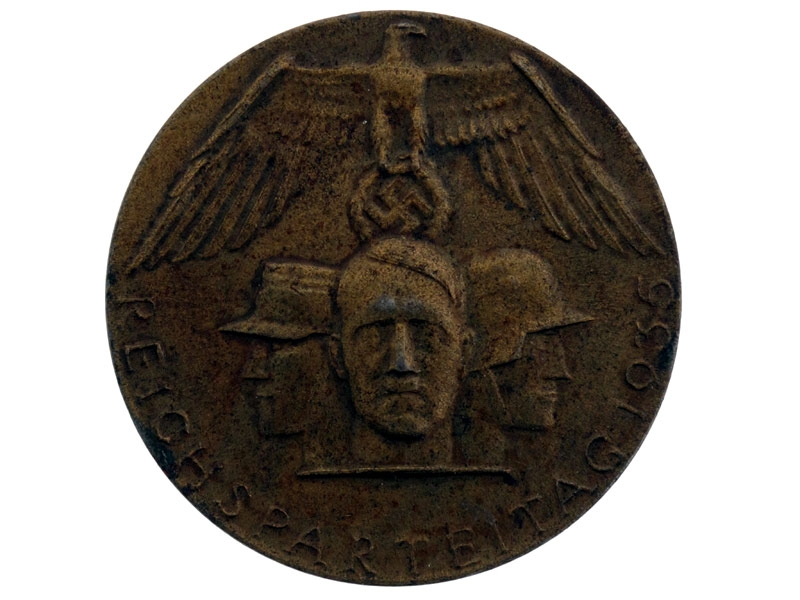 eMedals-1935 Bronze Party Tinnie