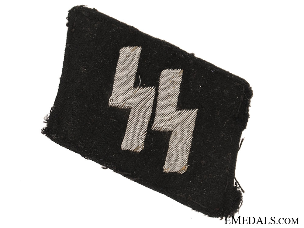 eMedals-Waffen-SS NCOs Wire Runic Tab