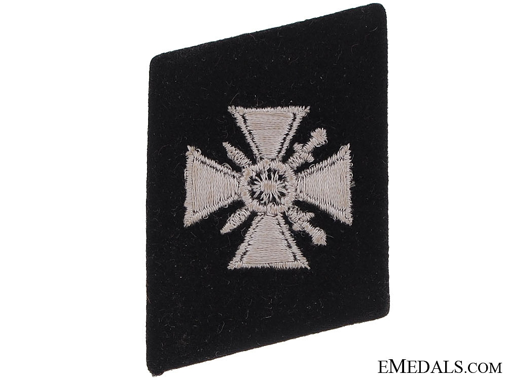 eMedals-Collar Tab of the 29th. Waffen-SS Grenadier Division  (Russische nr.1)