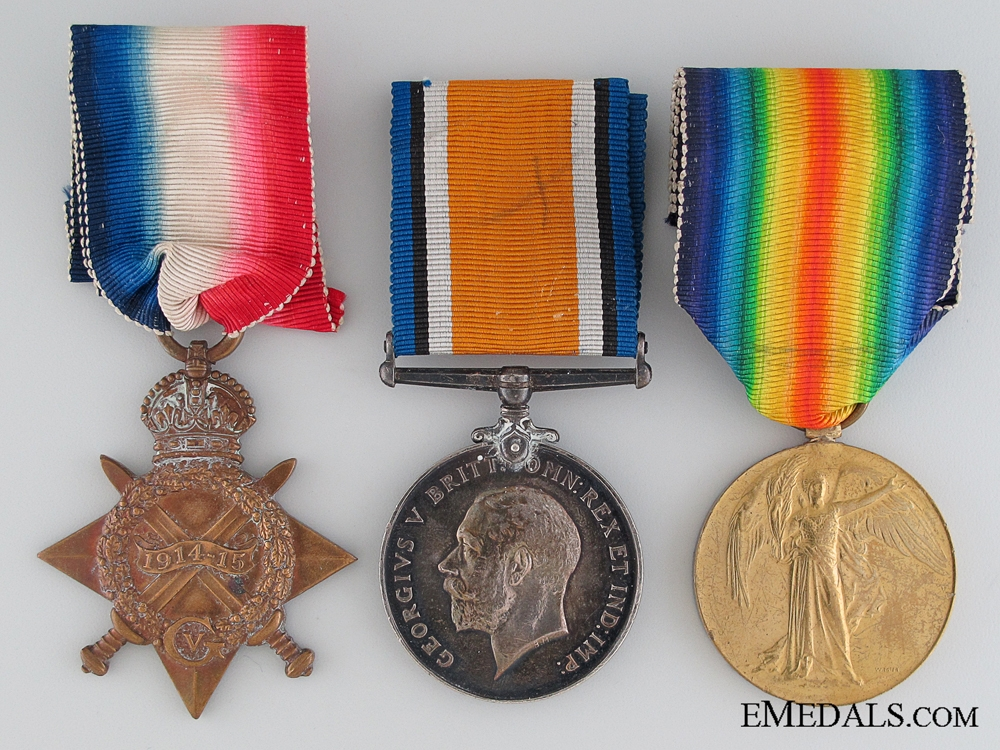 eMedals-Great War Trio to the Royal Naval Reserve