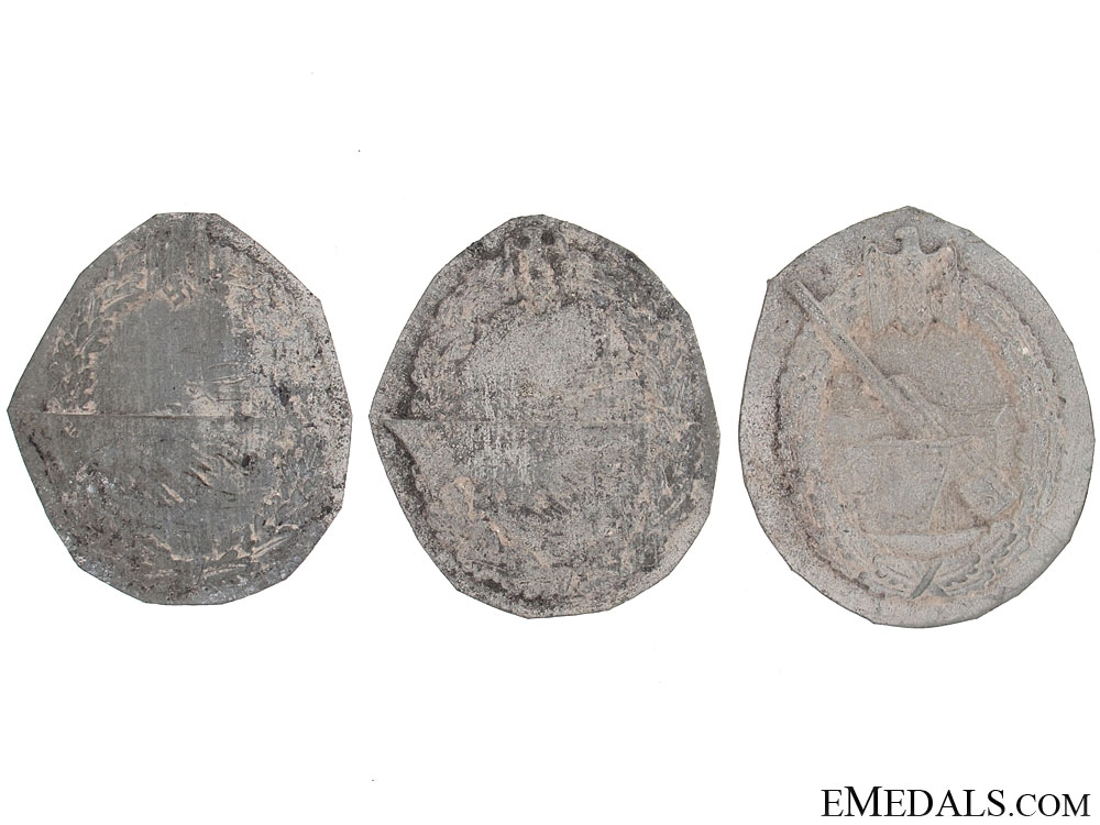 eMedals-Three Navy Badges Recovered from Zimmermann Factory