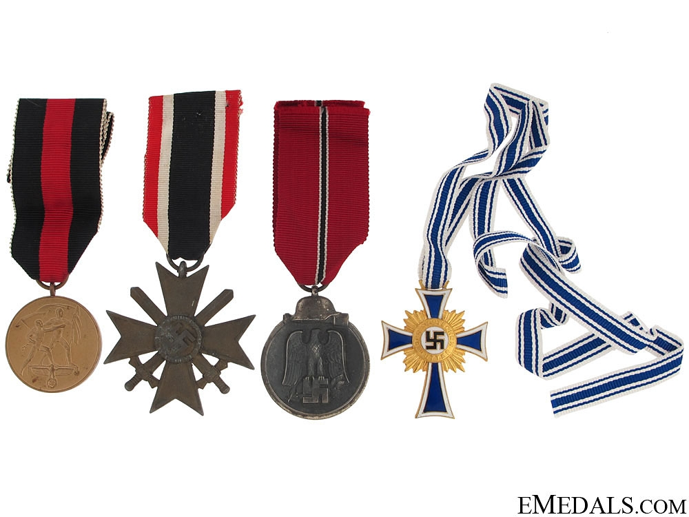 eMedals-Group of Four German Awards