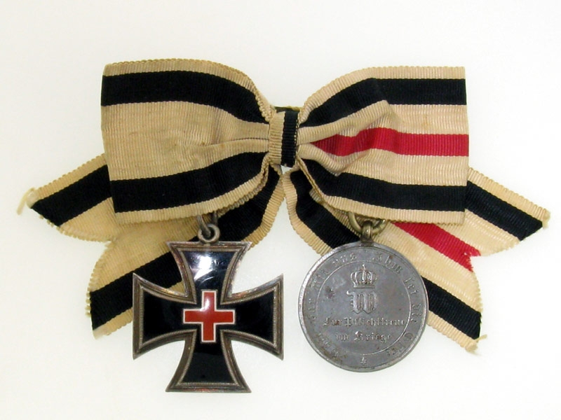eMedals-Prussia - Cased Pair, Honor Cross for