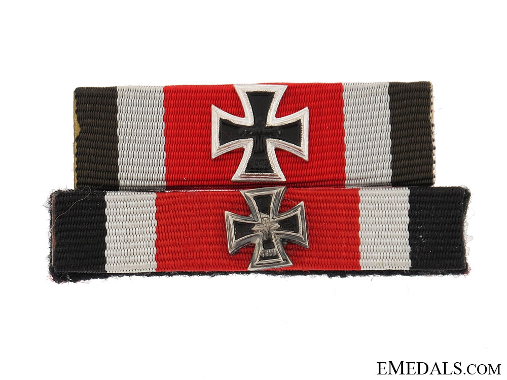 eMedals-Two Knight's Cross Ribbon Bars