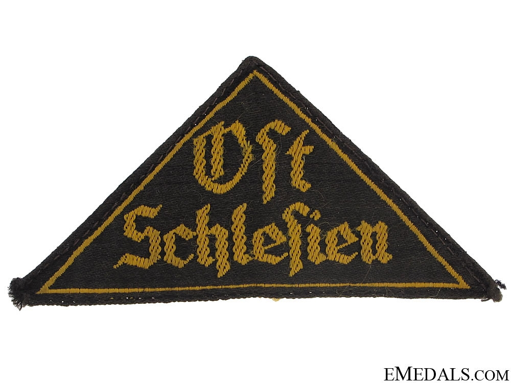 """eMedals-HJ District Triangle """"Ost Schlesien"""""""
