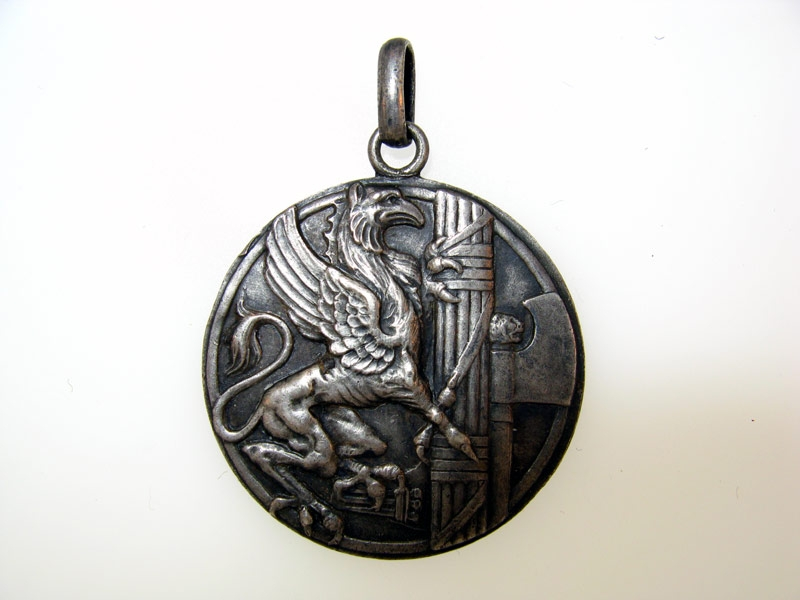 """eMedals-Silver Medal """"Croce Bianca"""""""