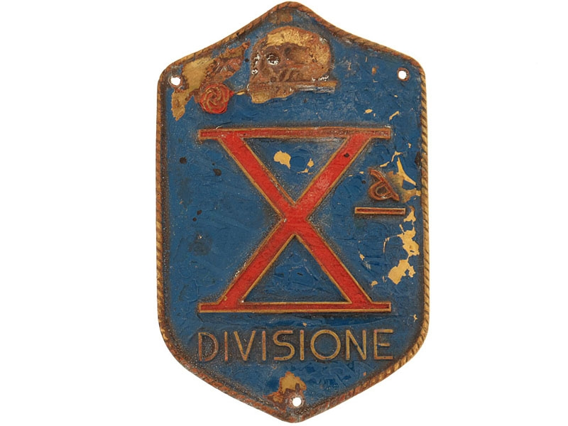 eMedals-10th Division Badge (X Divisione)