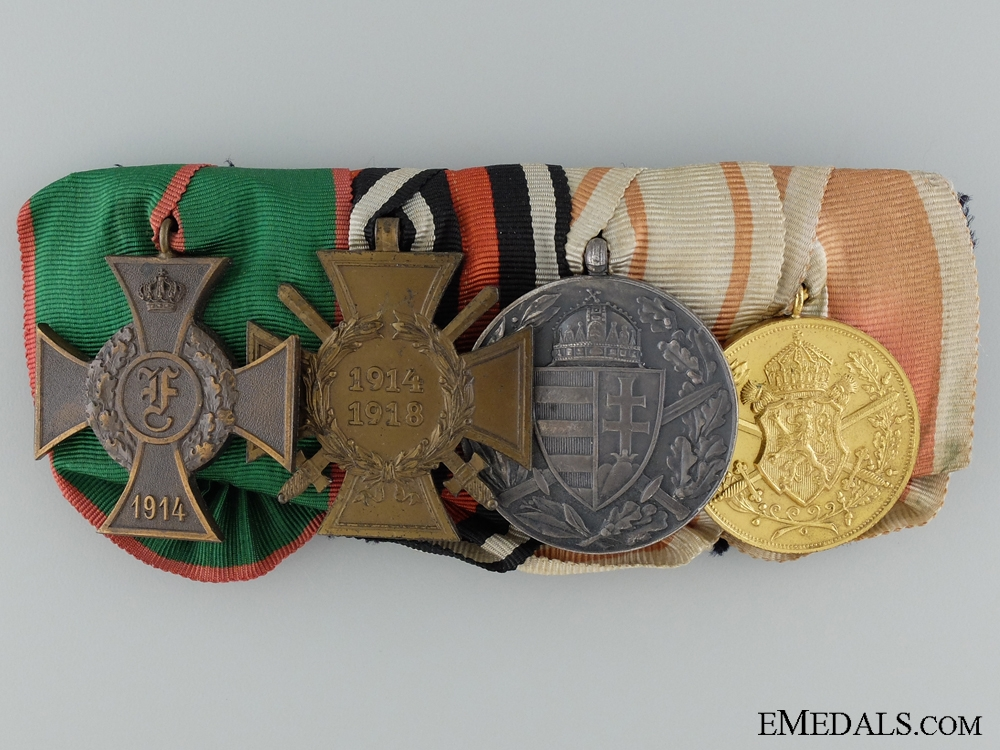 eMedals-Imperial Medal Bar with Four Awards