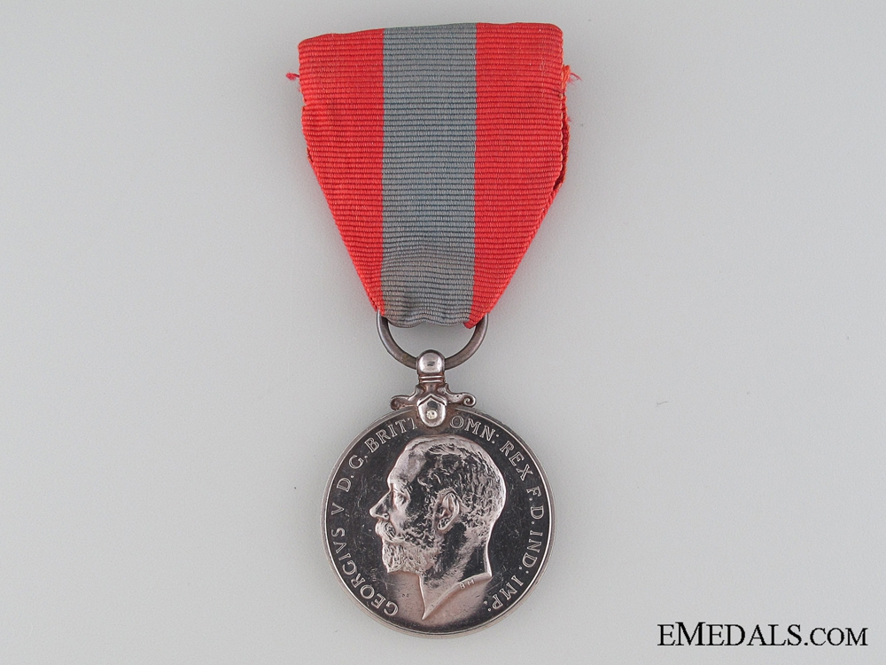 eMedals-Imperial Service Medal to Railways and Canals