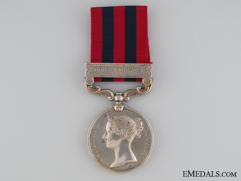 eMedals-India General Service Medal 1854 to the Leicestershire Regiment