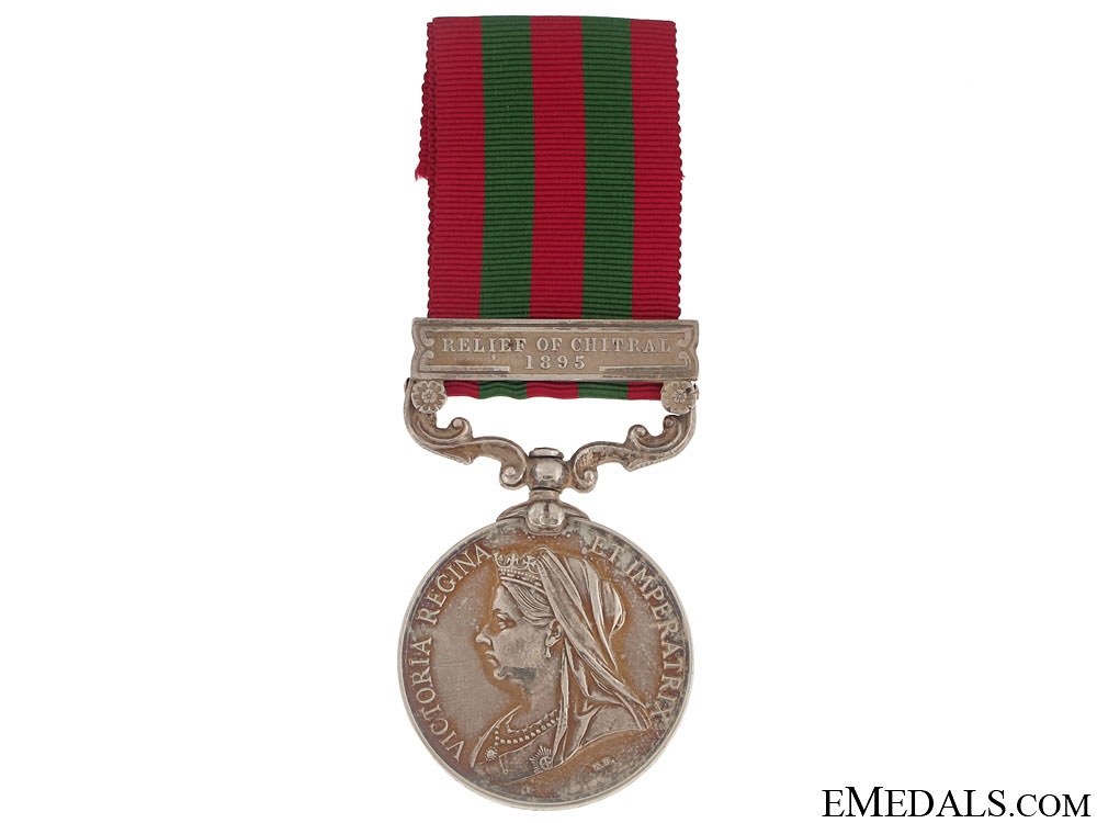 eMedals-India Medal 1895-1902 - Relief of Chitral