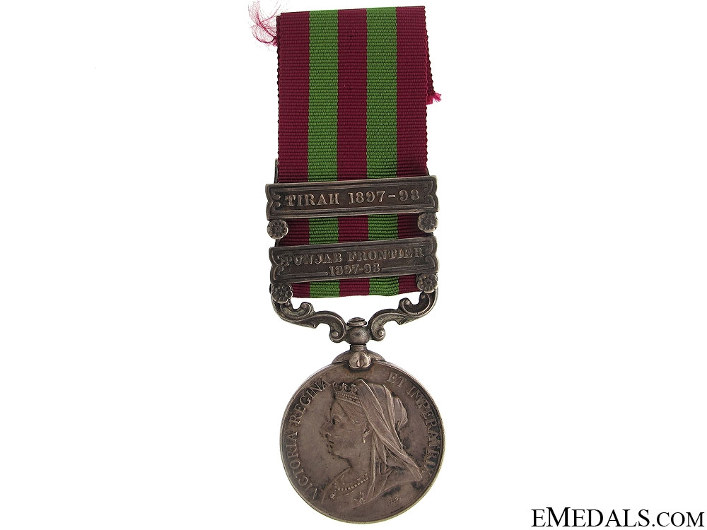 eMedals-India Medal 1896 - Inniskilling Fusiliers