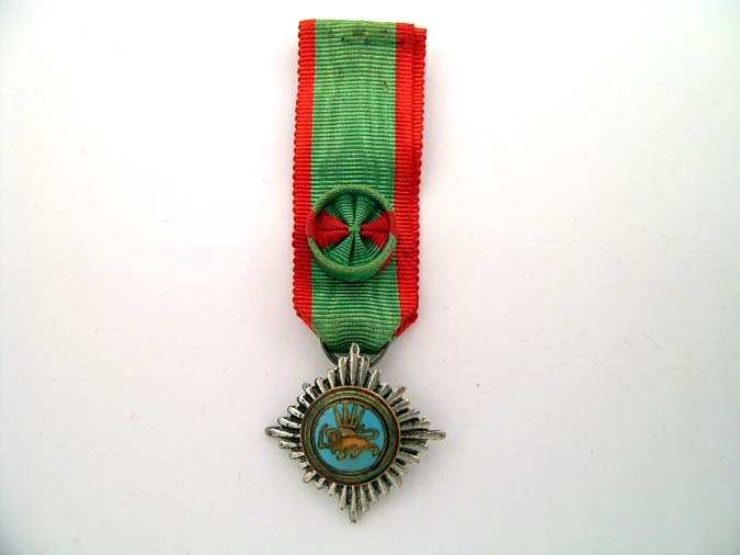 eMedals-IRAN, ORDER OF LION AND SUN