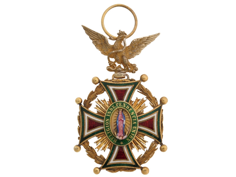 eMedals-Mexico. Order of Our Lady of Guadaloupe.