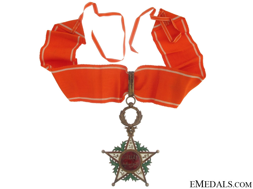 eMedals-Morocco, Order of Ouissam Alaouite